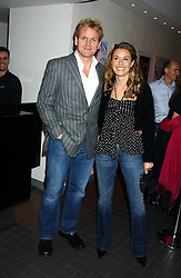 Top chef GORDON RAMSAY and his wife TANA at the Harpers and Moet Restaurant Awards 2005 held at Floridita, Wardour Street, London W1 on 31st October 2005.<br /><br />NON EXCLUSIVE - WORLD RIGHTS