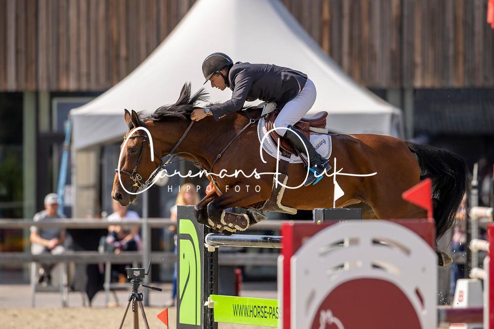 Liefsoens Alexander, BEL, Elnica CI Z<br /> Belgian Championship 7 years old horses<br /> SenTower Park - Opglabbeek 2020<br /> © Hippo Foto - Dirk Caremans<br />  13/09/2020