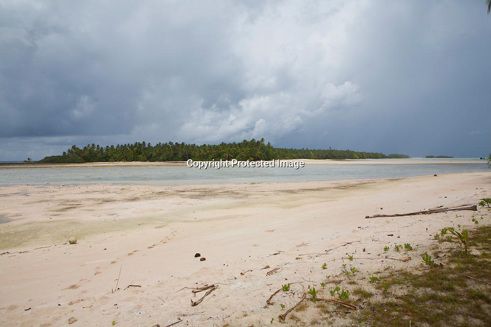 Tuvalu, island in the pacific ocean