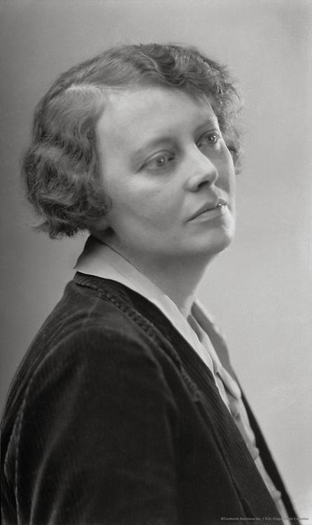 Margaret Storm Jameson, English Author and Critic, 1925