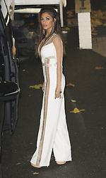 Nicole Scherzinger im weissen Overall vor den  Fountain Studios in London / 061116<br /> <br /> ***Nicole Scherzinger X Factor Judges at Fountain Studios, London 6th Nov 2016***