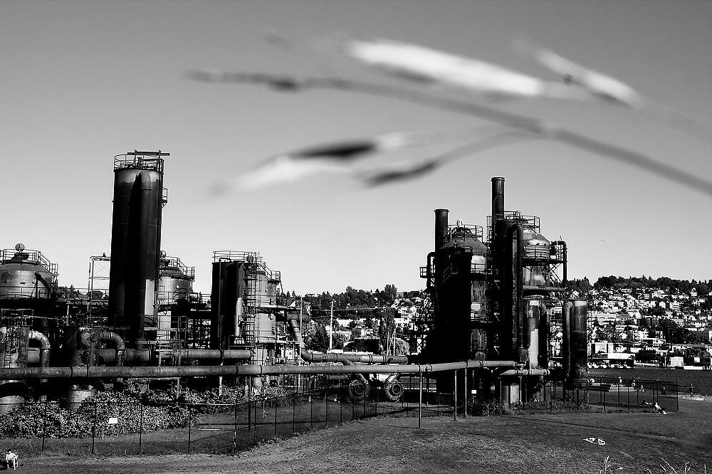 Gas Works Park in Seattle, Washington.