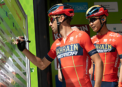 22.04.2019, Kufstein, AUT, Tour of the Alps, 1. Etappe, Kufstein - Kufstein, 144km, im Bild // Vincenzo Nibali (ITA, Bahraat Merida Pro Cycling Team) during the 1st Stage of the Tour of the Alps Cyling Race from Kufstein to Kufstein (144km) in in Kufstein, Austria on 2019/04/22. EXPA Pictures © 2019, PhotoCredit: EXPA/ Reinhard Eisenbauer