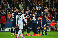 Joie PSG - 08.05.2015 -  PSG / Guingamp - 36eme journee de Ligue 1<br />