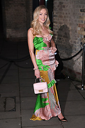 Clara Paget arriving at the Fabulous Fund Fair, Camden Roundhouse, London.<br />Photo credit should read: Doug Peters/EMPICS