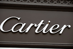 June 14, 2018 - Munich, Bavaria, Germany - The shop of the french luxury brand Cartier is seen in Munich. (Credit Image: © Alexander Pohl/NurPhoto via ZUMA Press)