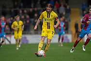 Burton Albion defender John Brayford during the The FA Cup 1st round match between Scunthorpe United and Burton Albion at Glanford Park, Scunthorpe, England on 10 November 2018.