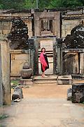 Hatadage building, The Quadrangle, UNESCO World Heritage Site, the ancient city of Polonnaruwa, Sri Lanka, Asia