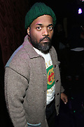 New York, NY-December 19: Recording Artist Rashad Smith attends the Official FELA Box Set 4 Release party powered by OkayPlayer & OkayAfrica and presented by Knitting Factory Records and Partisan Records held at the Box on December 19, 2017 in New York City.  (Photo by Terrence Jennings/terrencejennings.com)
