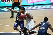 Basketball: Deutschland, 1. Bundesliga, Hamburg Towers - HAKRO Merlins Crailsheim, Hamburg, 10.01.2021<br /> Terry Allen (Towers, M.)<br /> © Torsten Helmke