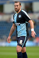 Paul Hayes, the Wycombe Wanderers captain looking on. Skybet football league two match, Wycombe Wanderers v Hartlepool Utd at Adams Park in High Wycombe, Bucks on Saturday 5th Sept 2015.<br /> pic by John Patrick Fletcher, Andrew Orchard sports photography.