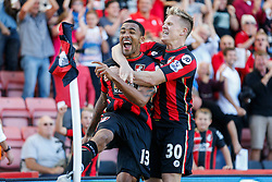 Goal, Bournemouth's Callum Wilson scores, Bournemouth 1-0 Sunderland - Mandatory by-line: Jason Brown/JMP - Mobile 07966 386802 19/09/2015 - SPORT - FOOTBALL - Bournemouth, Vitality Stadium - AFC Bournemouth v Sunderland - Barclays Premier League