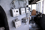 Wiper control switches on bridge of USS Missouri. Battleship Missouri Memorial, Pearl Harbour, Hawaii RIGHTS MANAGED LICENSE AVAILABLE FROM www.PhotoLibrary.com