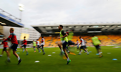 Charlton Athletic's Johnnie Jackson during the warm up