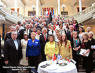 A Tribute to the Families of Georgia's Vietnam Fallen Heroes at the Georgia State Capitol Building, Atanta, GA on September 25, 2014