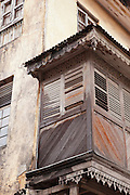 'Mombasa House' is an old traditional building, now a preserved landmark of the heritage of Mombasa, Kenya