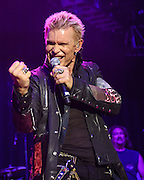 """COLUMBIA, MD - May 30, 2015 - Billy Idol performs at the 2015 Sweetlife Festival at Merriweather Post Pavilion in Columbia, MD. His set featured rock radio staples such as """"Rebel Yell,"""" """"Eyes Without A Face"""" and """"Dancing With Myself."""" (Photo by Kyle Gustafson / For The Washington Post)"""