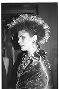 VERONICA NESSAN, Ceroc Ball, Forum, 12 April 1984,<br /> <br /> SUPPLIED FOR ONE-TIME USE ONLY> DO NOT ARCHIVE. © Copyright Photograph by Dafydd Jones 248 Clapham Rd.  London SW90PZ Tel 020 7820 0771 www.dafjones.com