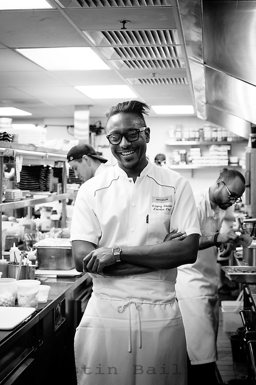 Gregory Gourdet, exectutive chef of Departures in downtown Portland, Oregon.
