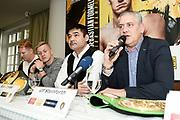Promoter Ulf Steinforth (rechts) und Erol Ceylan.<br /> Pressekonferenz vor Box-Gala von SES- und ES Boxing, Block-Braeu an den Landungsbruecken,<br /> 14. Januar 2020, Hamburg, Germany,<br /> © MSSP - MICHAEL SCHWARTZ SPORTPHOTO, <br /> 22605 Hamburg,  Tel: 0171-6460044, www.mssp.biz  -  www.schwartz-photo.de<br /> Honorar o. Abzug + 7% MwSt. -<br /> IBAN: DE83 2004 0000 0409 9909 00, BIC/SWIFT-Code: COBADEFF, zuvor: Commerzbank, Kto: 409990900, BLZ: 20040000,  Steuer-ID. DE225222405, FA Hamburg-Am Tierpark