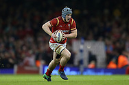 Jonathan Davies of Wales in action. RBS Six Nations 2017 international rugby, Wales v Ireland at the Principality Stadium in Cardiff , South Wales on Friday 10th March 2017.  pic by Andrew Orchard, Andrew Orchard sports photography