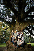 Grant family portrait in New Orleans on November 2015.