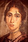 EGYPT, CAIRO, ANCIENT ART Antiquities Museum; Greco-Roman mummy