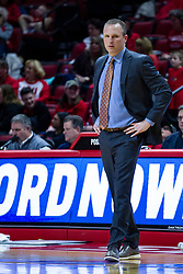 NORMAL, IL - February 22:  Darian DeVries during a college basketball game between the ISU Redbirds and the Drake Bulldogs on February 22 2020 at Redbird Arena in Normal, IL. (Photo by Alan Look)