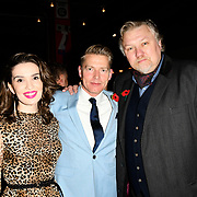 Elanor Miller, Richard Dee Roberts and Rock Salt arrivers at Eleven Film Premiere at Picture House Central, Piccadilly Circus on 10 November 2018, London, Uk.