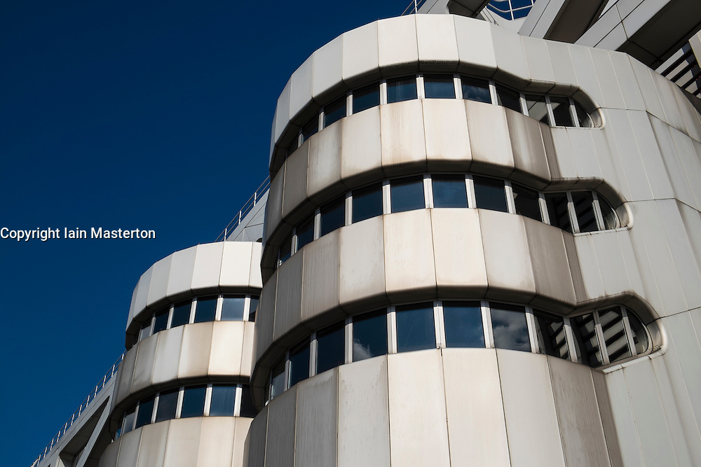Exterior of ICC International Congress Centrum convention centre in Berlin Germany