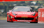 Car#17a - Il Bello Rosso - Allan Simonsen, Dominik Farnbacher, John Bowe, Peter Edwards.Ferrari 458 GT3.Armor All Bathurst 12hr Race..February 24th to the 26th 2012.Mt Panorama Circuit, Bathurst, NSW, Australia..(C) Joel Strickland Photographics.Use information: This image is intended for Editorial use only (e.g. news or commentary, print or electronic). Any commercial or promotional use requires additional clearance.