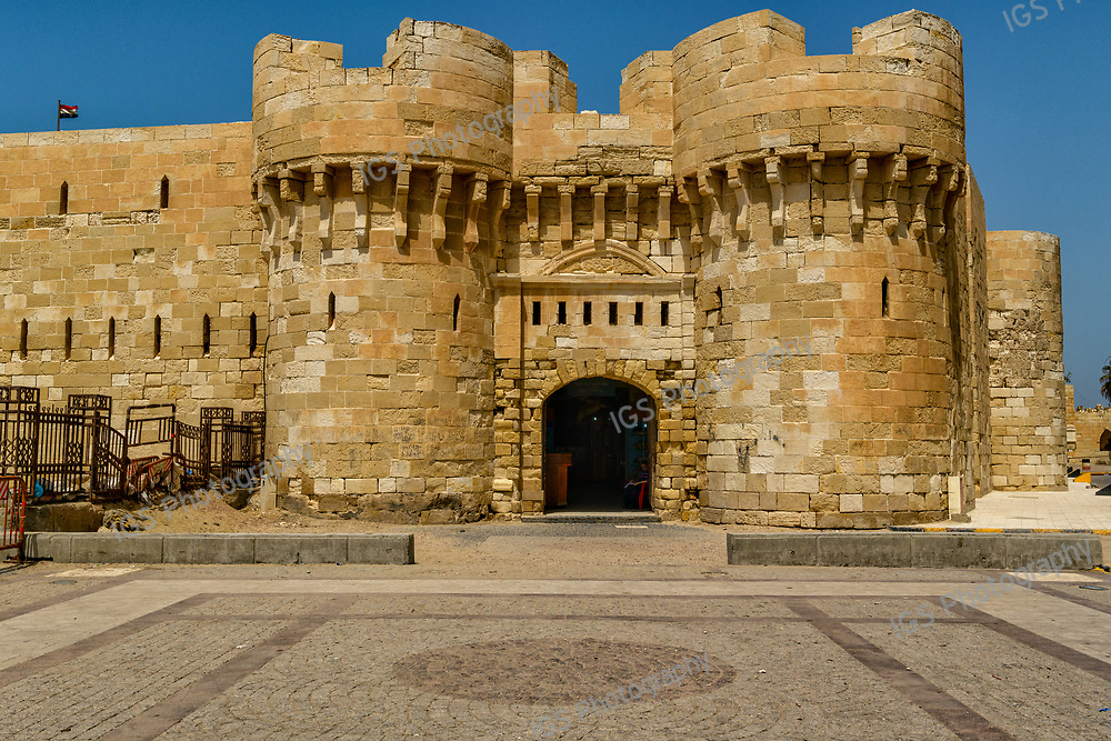 This Citadel was built on the exact site of one of the Seven Wonders of the Ancient World; the Lighthouse of Alexandria, or Pharos Lighthouse