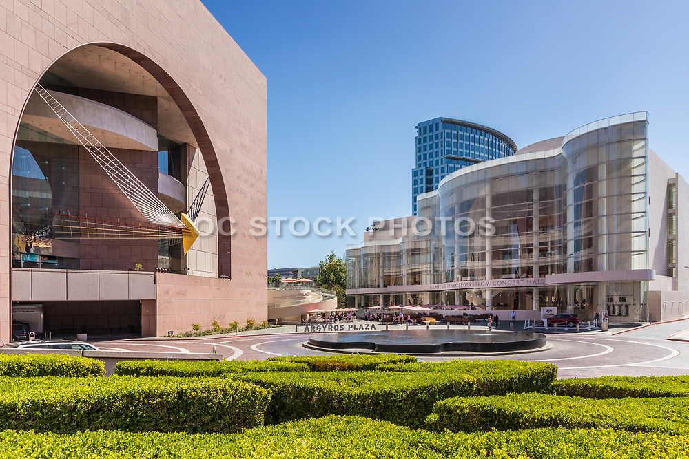 Renee And Henry Segerstrom Concert Hall And Segerstrom Concert Hall At Argyros Plaza In Costa Mesa