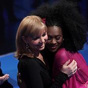 NLD/Hilversum/20080301 - Finale Idols 2008, Nathalie heeft de vrede getekend met jurylid Jerney Kaagman