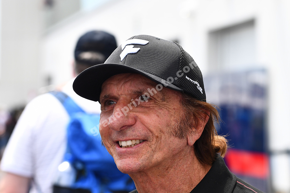 Emerson Fittipaldi after practice for the 2019 Canadian Grand Prix in Montreal. Photo: Grand Prix Photo