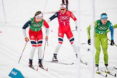 Women - Cross Country Skiing 4x5 km Relay - 17 February 2018