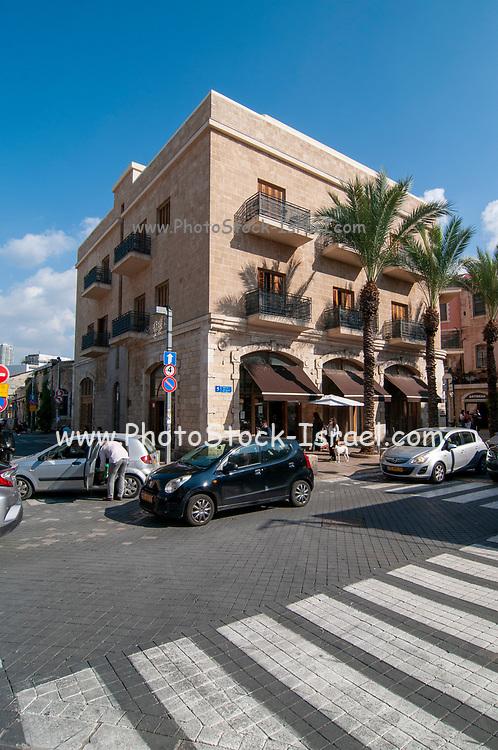 Historic building on Beit Eshel street, [Currently an Hotel] Old Jaffa, Tel Aviv, Israel [Near the Historic Clock Tower]