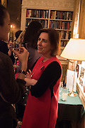 KIRSTY WARK, The Walter Scott Prize for Historical Fiction 2015 - The Duke of Buccleuch hosts party to for the shortlist announcement. <br /> The winner is announced at the Borders Book Festival in Scotland in June.John Murray's Historic Rooms, 50 Albemarle Street, London, 24 March 2015.