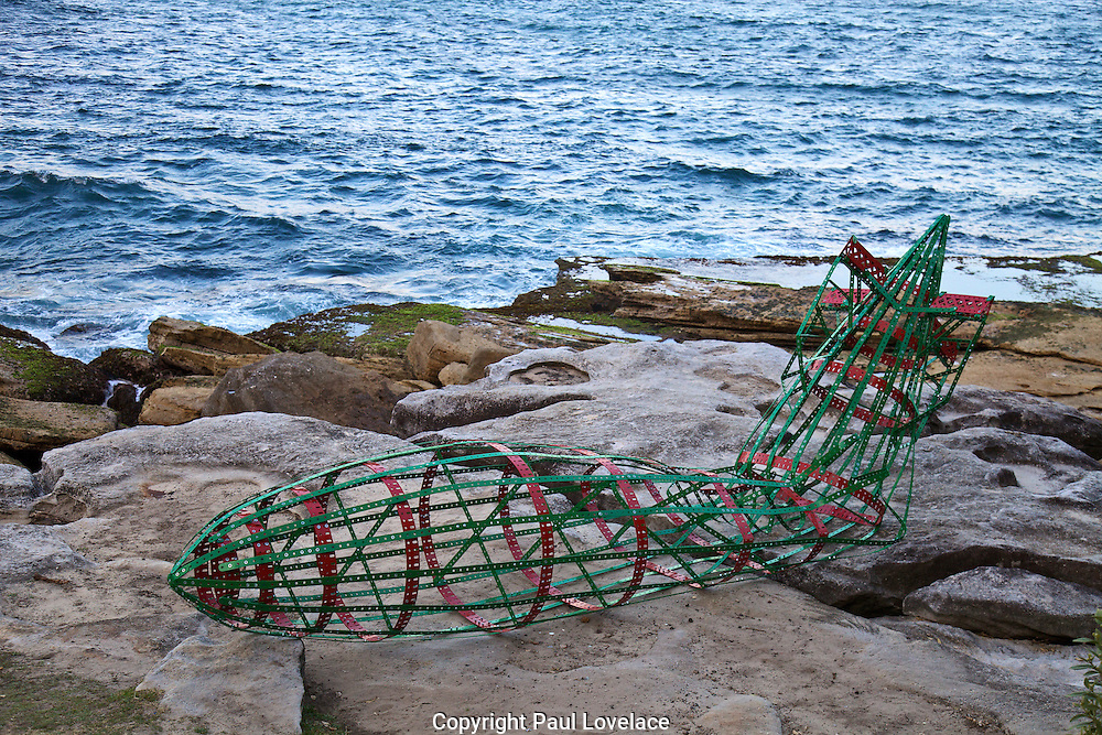 Sculpture By The Sea, Bondi, Sydney..The world's largest annual free-to-the-public outdoor sculpture exhibition, Sculpture by the Sea, Bondi  was launched today 18.10.12..Shane Mc Grath
