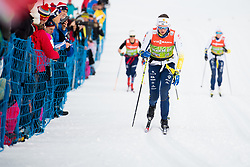 January 6, 2018 - Val Di Fiemme, ITALY - 180106 Linn SÅ¡mskar of Sweden during warm-up ahead of women's 10km mass start classic technique during Tour de Ski on January 6, 2018 in Val di Fiemme..Photo: Jon Olav Nesvold / BILDBYRN / kod JE / 160122 (Credit Image: © Jon Olav Nesvold/Bildbyran via ZUMA Wire)