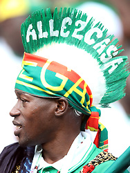 Senegal fan during the game