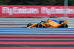 June 23, 2018 - Le Castellet, Var, France - McLaren 2 Driver STOFFEL VANDOORNE (BEL) in action during the Formula one French Grand Prix at the Paul Ricard circuit at Le Castellet - France (Credit Image: © Pierre Stevenin via ZUMA Wire)