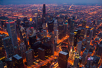 Chicago Loop @ Night