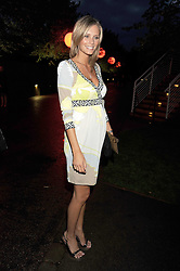 MALIN JEFFERIES at the annual Serpentine Gallery Summer Party in Kensington Gardens, London on 9th September 2008.