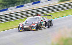 10.06.2017, Red Bull Ring, Spielberg, AUT, ADAC GT Masters, Spielberg, 1. Rennen, im Bild Markus Pommer (GER)/Kelvin van der Linde (ZAF) Aust Motorsport // German ADAC GT Masters driver Markus Pommer/South African ADAC GT Masters driver Kelvin van der Linde of Aust Motorsport during the 1st race of the ADAC GT Masters at the Red Bull Ring in Spielberg, Austria on 2017/06/10. EXPA Pictures © 2017, PhotoCredit: EXPA/ Dominik Angerer