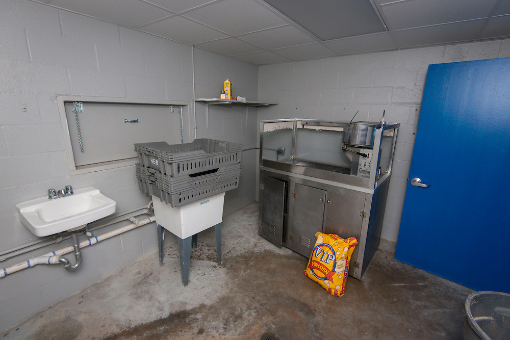 Concession stand at North Forest High School, February 23, 2015.