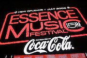 Atmosphere at The 2009 Essence Music Festival held at The Superdome in New Orleans, Louisiana on July 5, 2009