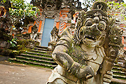 Apr. 22 - UBUD, BALI, INDONESIA:   The entrance to a Hindu Temple in Ubud, Bali, Indonesia.  Photo by Jack Kurtz/ZUMA Press.