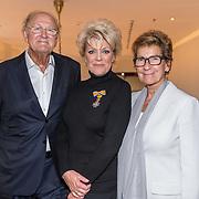 NLD/Amsterdamt/20180930 - Annie MG Schmidt viert eerste jubileum, Simone Kleinsma , Joop van den Ende en Janine
