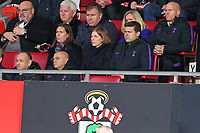 Football - 2018 / 2019 Premier League - Southampton vs. Tottenham Hotspur<br /> <br /> Tottenham Hotspur Manager Mauricio Pochettino  takes his seat in the stand as he serves the first of his two match touchline ban at St Mary's Stadium Southampton<br /> <br /> COLORSPORT/SHAUN BOGGUST